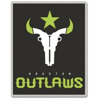 Houston Outlaws WinCraft Rectangle Pin - No Size