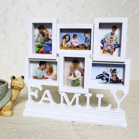 Family Photo Frame Picture Frames Art Wall Hanging Album DIY Home ...