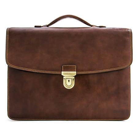Tony Perotti Alfero Single Compartment Document Briefcase