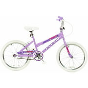 "20"" Titan Tomcat Girls' BMX Bike with Pads, Lavender"