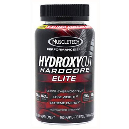 Hydroxycut Hardcore Elite, 100 CT