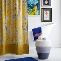 Tropical Toile Shower Curtain by Drew Barrymore Flower Home