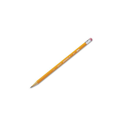 Oriole Pencils, No. 2 Lead Grade, Nontoxic, 6BX/PK, Yellow, Sold as 1 Package, 12 Each per Package