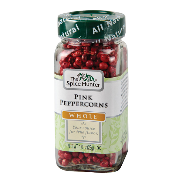 The Spice Hunter All Natural Whole Pink Peppercorns 1 oz Jars - Pack of 1