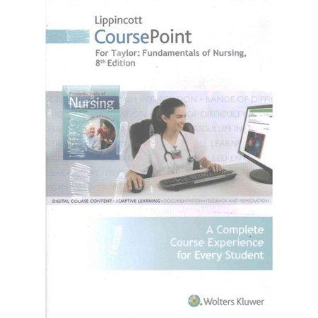 Fundamentals of Nursing Lippincott Coursepoint
