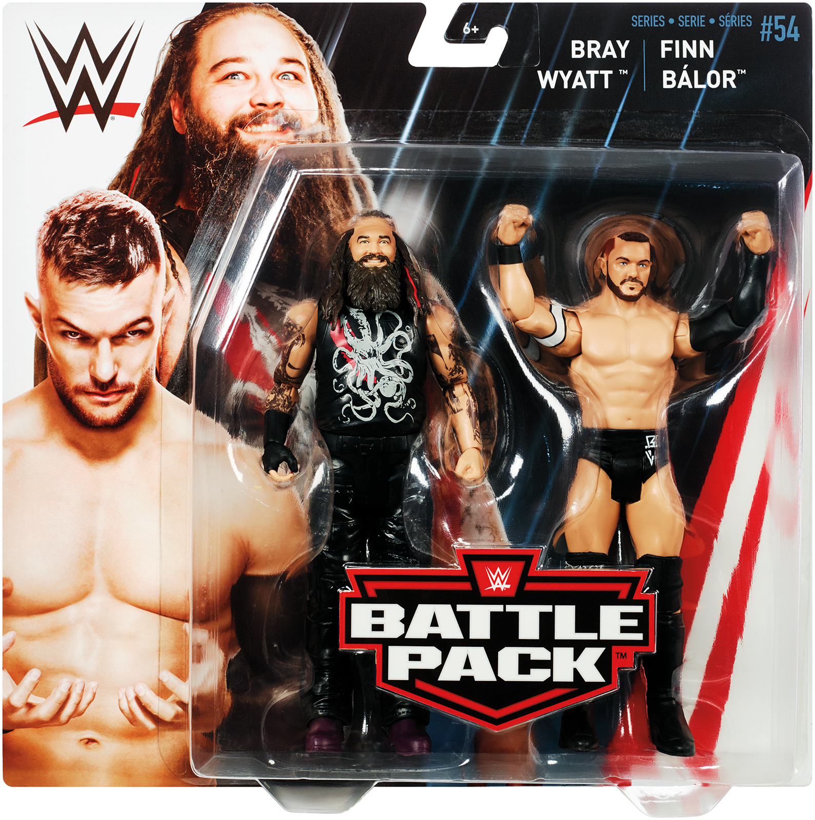 Finn Balor & Bray Wyatt - WWE Battle Packs 54 Toy Wrestling Action Figures