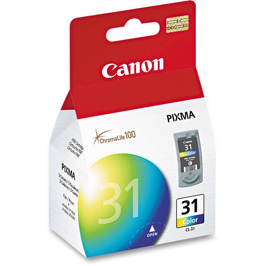Canon CL-31 Tri-Color Inkjet Print Cartridge
