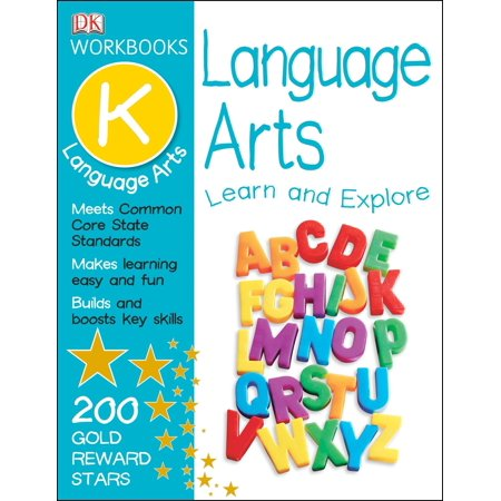 DK Workbooks: Language Arts, Kindergarten : Learn and (Mcgraw Hill Language Arts 6th Grade Workbook)