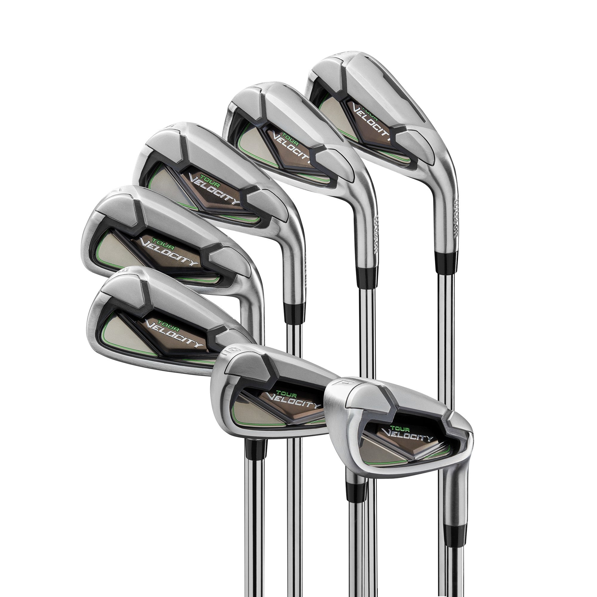 Wilson Tour Velocity Men's Iron Golf Set, Right-Handed by Wilson Sporting Goods