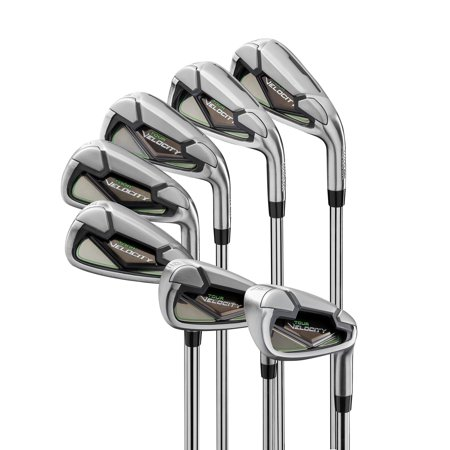 Wilson Tour Velocity Men's Iron Golf Set, Right-Handed (Tour Edge Golf Club Set)