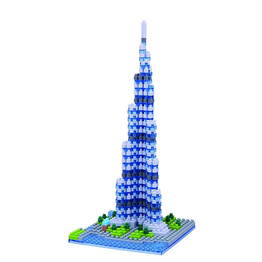 Nanoblock Khalifa Tower Building Kit by