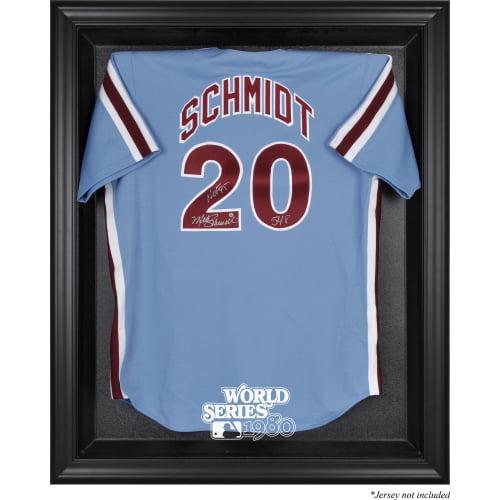 Philadelphia Phillies Fanatics Authentic 1980 World Series Black Framed Logo Jersey Display Case - No Size