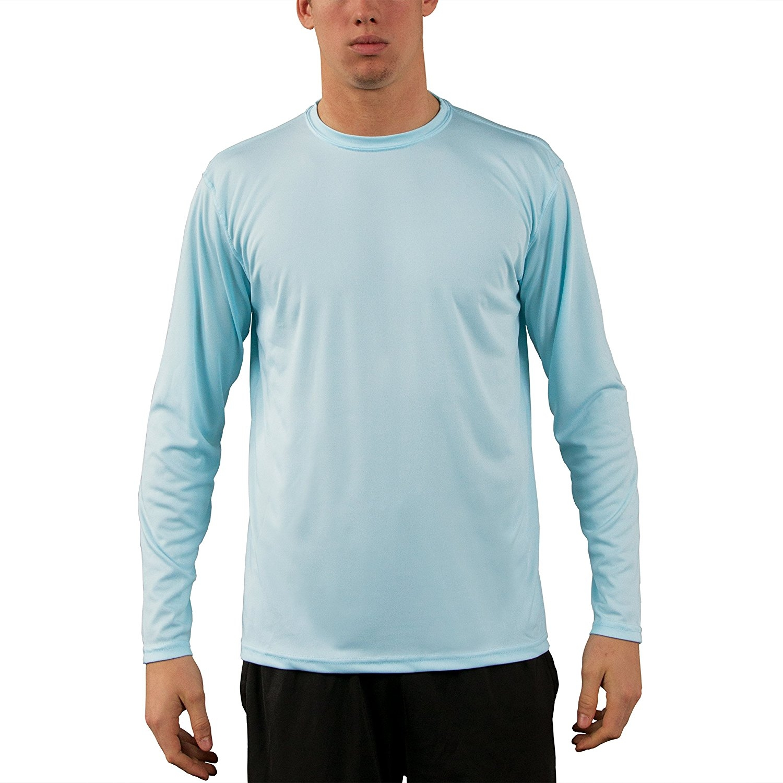 Baja Boats Long Sleeve Microfiber UPF Fishing Shirt Arctic Blue