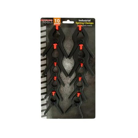Bulk Buys OF500-24 Industrial Spring Clamps Set, 24 Piece - image 1 de 1