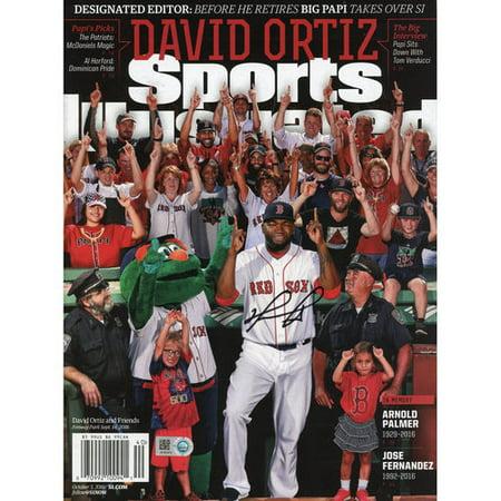 1980 Sports Illustrated Magazine - David Ortiz Boston Red Sox Autographed Designated Editor Retirement Sports Illustrated Magazine