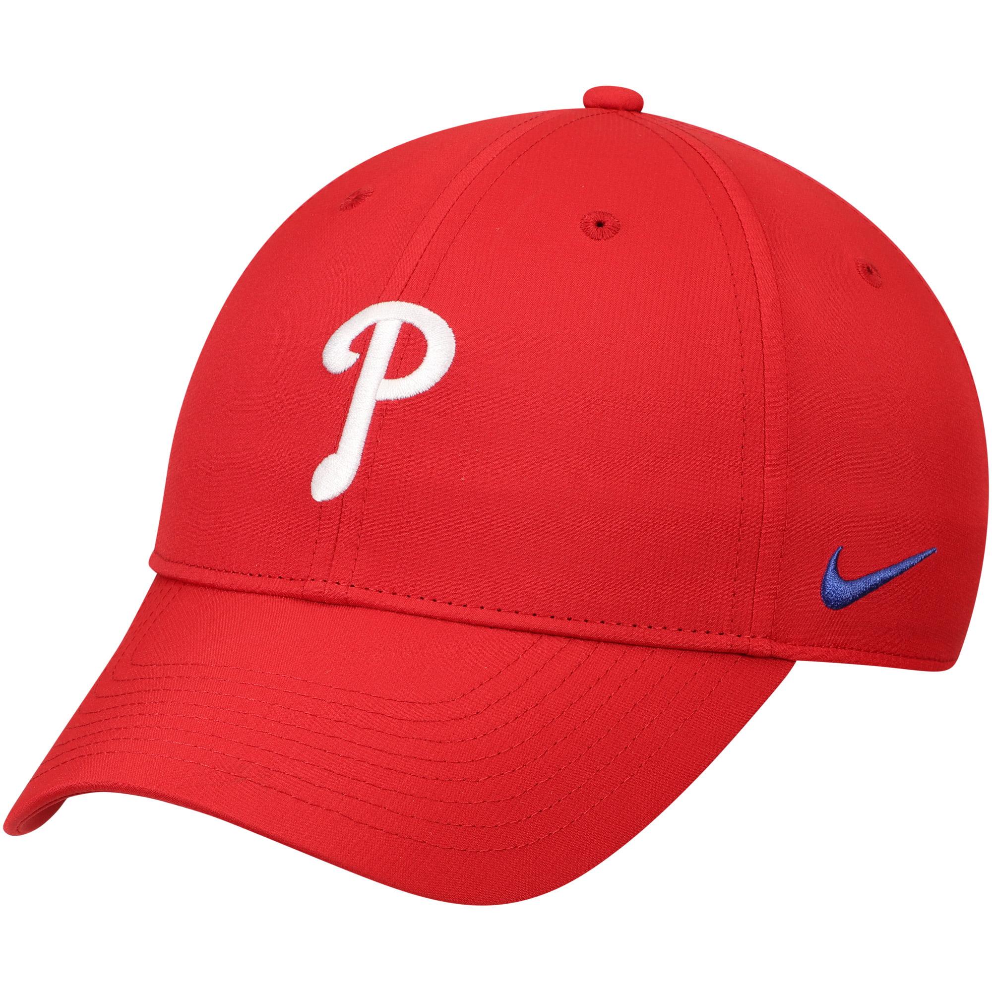 Philadelphia Phillies Nike Legacy 91 Performance Adjustable Hat - Red - OSFA