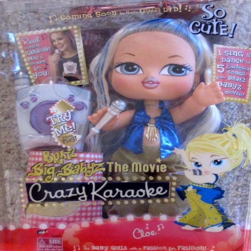 "BRATZ Big BABYZ CLOE DOLL 12.5"" w SING & DANCE CLOE Doll,..."