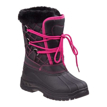Rugged Bear Girls' Snow Boots