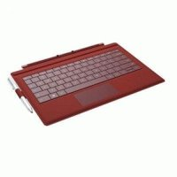 Microsoft Type Cover Keyboard/cover Case For Laptop - Red - English Keyboard Localization