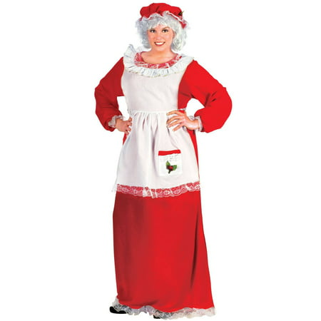 Mrs. Claus Women's Adult Halloween Costume