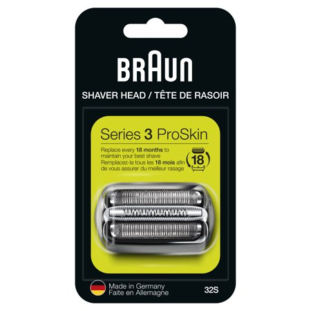 Braun Series 3 32 S Foil and Cutter Replacement Head