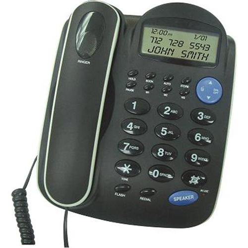 Southern Telecom EM2650BK Big-Button Speakerphone with Caller ID