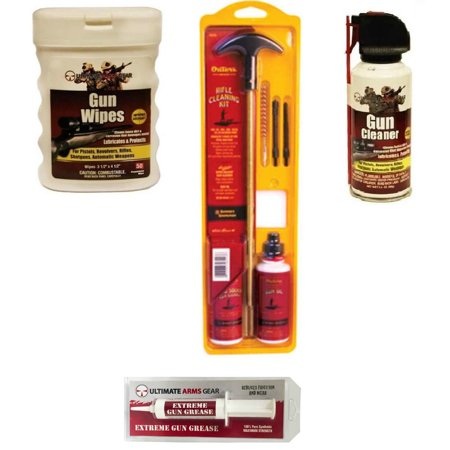 Outers Universal 22 Caliber Rifle Gun Cleaning Kit