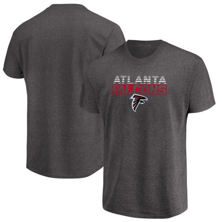 Men's Majestic Heathered Charcoal Atlanta Falcons Come Into Play (Atlanta Falcons Boys Apparel)