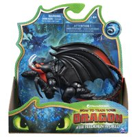 DreamWorks Dragons, Deathgripper Dragon Figure with Moving Parts, for Kids Aged 4 and up