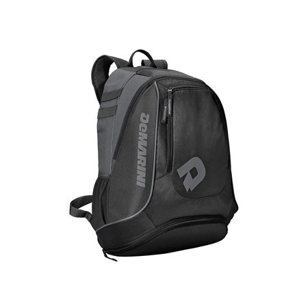 Softball Accessories (DeMarini Sabotage Baseball Backpack Black)