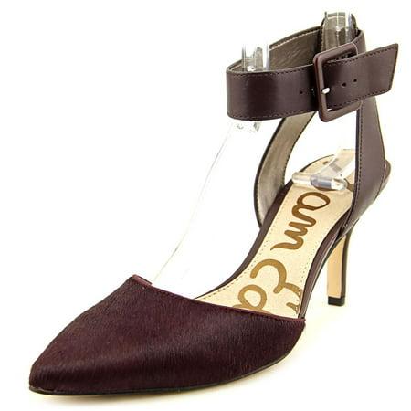 38a638d6c Sam Edelman - Sam Edelman Okala Women Pointed Toe Suede Burgundy ...