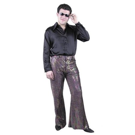 Adult Men's Sequin Disco Pants (Sequin Disco Pants)