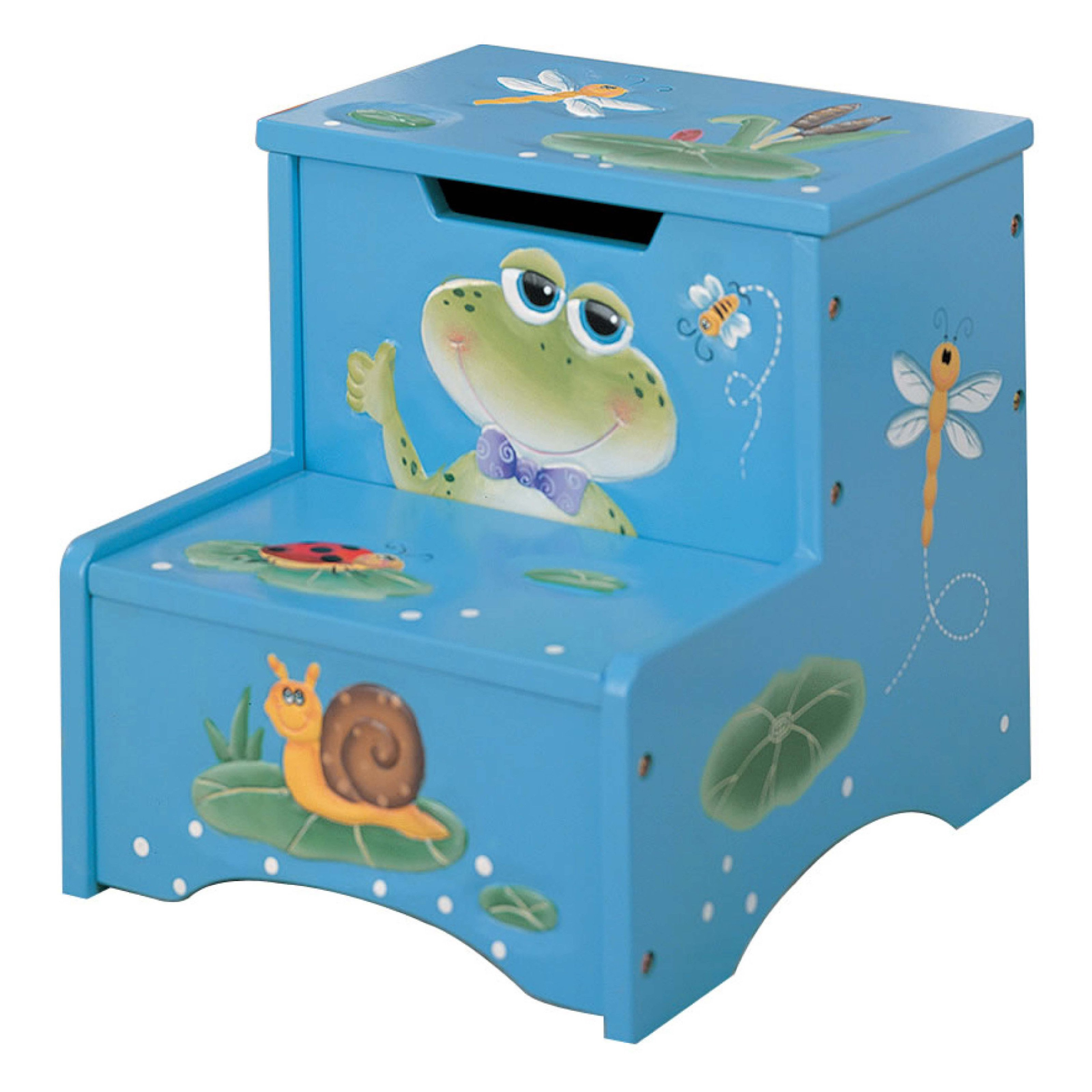 Fantasy Fields Happy Creatures Step Stool with Storage