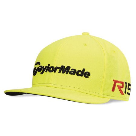 8de5b61842e3d NEW TaylorMade R15 Aero Burner New Era 9 Fifty Yellow Adjustable ...