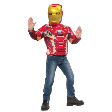 Muscle Chest Iron Man Shirt -
