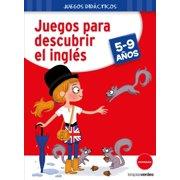 Juegos Para Descubrir El Ingles (Hardcover) - De Disfraces De Halloween Para Adultos