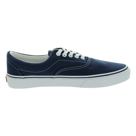 b11192f383 VANS - Vans VEWZNVY-060D Unisex Era Classic Navy Canvas Lace-Up Trainers  Skate Shoe