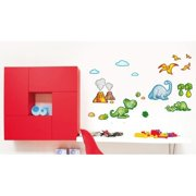 Smart Deco 25 Piece Dinosaurs 1 Wall Decal