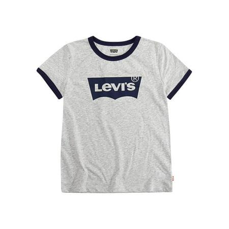 Levi's Oversized Ringer T-Shirt (Little Girls & Big (Girls Ringer T-shirt)