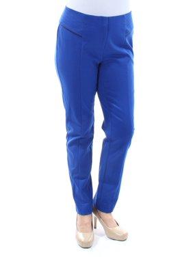 b253b5deb6459 Product Image ALFANI Womens Blue Pants Size  6