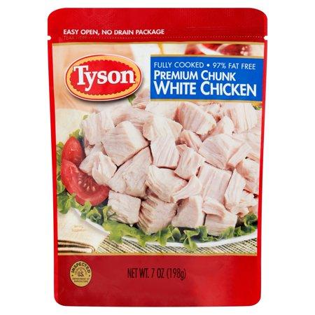 Tyson Premium Chunk White Chicken Breast  7 Oz