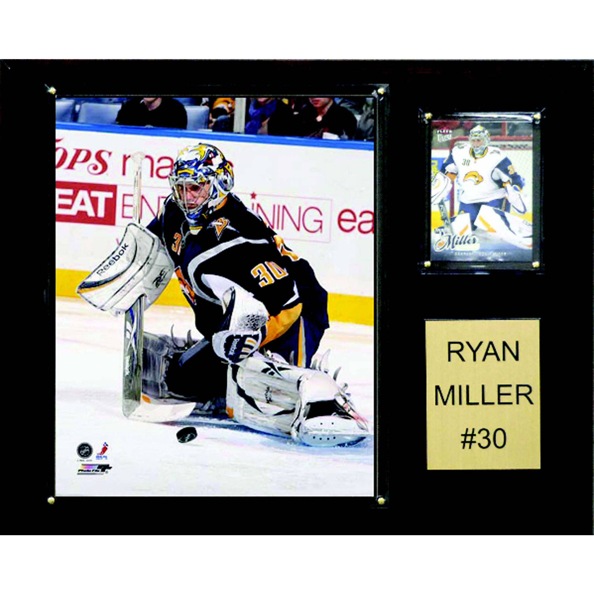C&I Collectables NHL 12x15 Ryan Miller Buffalo Sabres Player Plaque