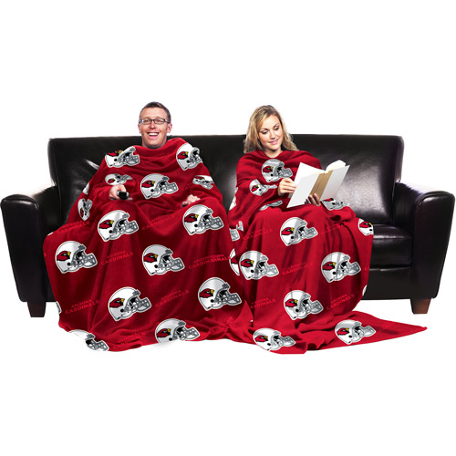 NFL Arizona Cardinals Blanket with Sleeves