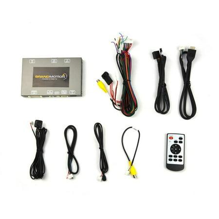 Brandmotion Audi Dual Video Input Interface for Factory Display Radios  (Internal MMI Knob)