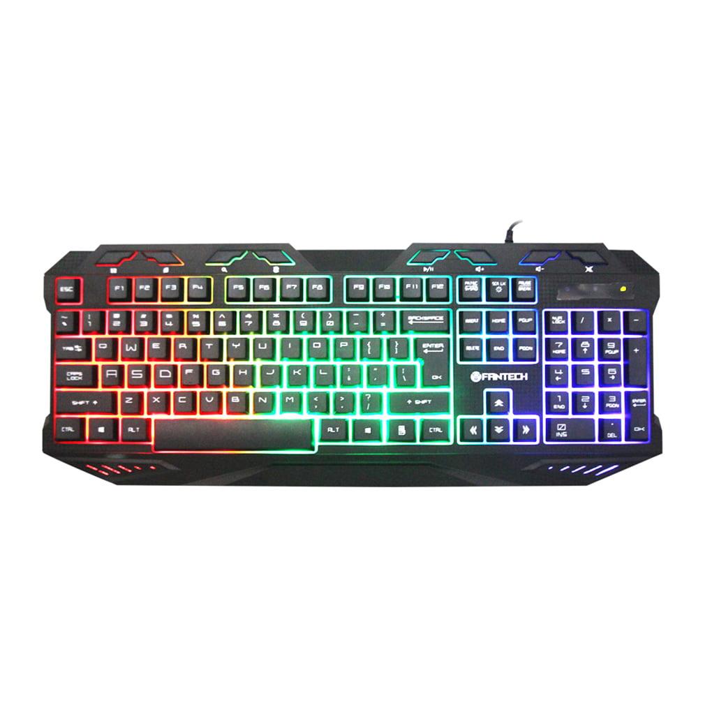 K10 Ergonomics Professional Gaming Pro Keyboard Switches Metal Wired USB