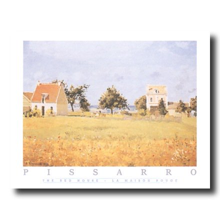 Pissarro French Landscape Wall Picture Art Print