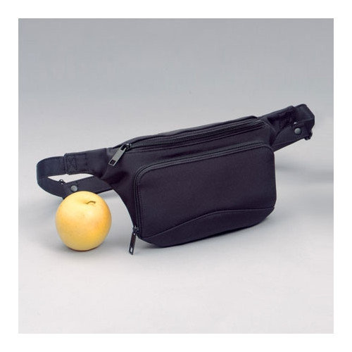 Winn Microfiber Fanny Pack Color: Black