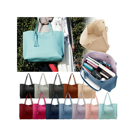 Top-handle Bags Women Tote Bag High Quality Pu Leather Large Capacity Fashion Women Handbags Shoulder Bags Top-handle Bags Bracing Up The Whole System And Strengthening It