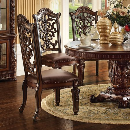 Acme Furniture Vendome Ornate Dining Side Chair Set Of 2
