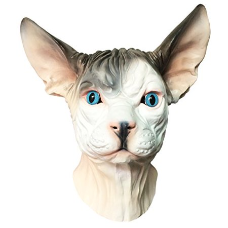 Hairless Cat - Sphynx Hairless Cat Mask - Off the Wall Toys